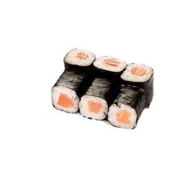 Классический ролл копченый лосось-resized